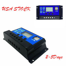 USA Durable 30A Solar Charger Controller Panel Battery Intelligent Regulator