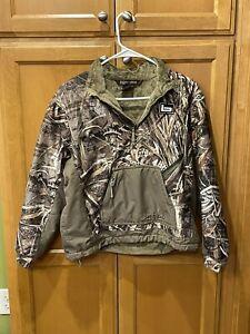 Banded quarter zip pullover