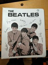 1964 The Beatles 2 Ring Binder New York Loose Leaf Corporation rarer than SPP