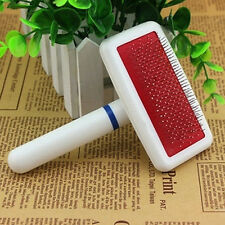 Pet Dog Cat Hair Shedding Grooming Trimmer Puppy Fur Comb Brush Slicker Supplies
