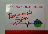 Aufkleber/Sticker: Radio en (05041617)