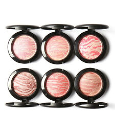 New Baked Blush Natural Glow Shimmer Blusher Face Contour Powder Makeup Palette~