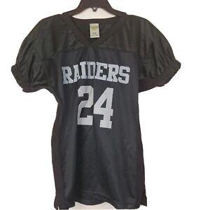 Charles Woodson #24 Eastbay Oakland Raiders Jersey Sz Youth XLarge 14-16, Black