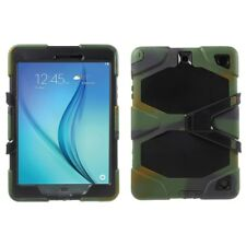 """Samsung galaxy tab a 9.7"""" Outdoor Case en silicone Heavy Duty Kickstand Camouflage"""