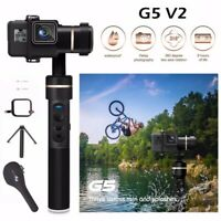 Feiyu G5 V2 3-Axis Splash-Proof Handheld Gimbal for GoPro HERO7/6/5/4 Camera US