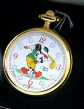 Disney Mickey Mouse Watch Colibri Golf Watch Discontinued Pocket Watch New