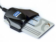 eID CAC DoD HID OMNIKEY CardMan 1021 USB Smart Card Chip Reader Writer universal