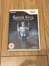 Silent Hill Shattered Memories Nintendo Wii 2010 Konami PAL RVL-006(EUR)