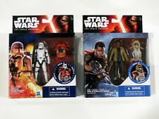 NEW--Star Wars FINN (Starkiller base) and FLAMETROOPER armor ups TFA