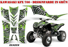 AMR RACING DEKOR GRAPHIC KIT ATV KAWASAKI KFX 450 & 700 DEADEN B