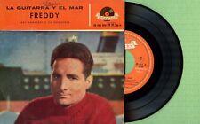FREDDY QUINN Die Gitarre und das Me POLYDOR 20482 EPH Pressing Spain 1959 EP VG+