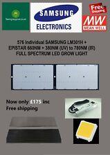More details for 240w samsung lm301h+660nm ir & uv full spec 2000w-quantum-led-grow-light-board