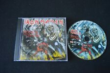 IRON MAIDEN THE NUMBER OF THE BEAST RARE CD!