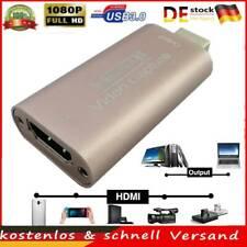 USB 3.0 Audio Video Capture Kartenadapter Konverter HDMI 1080P Erfassungskarte