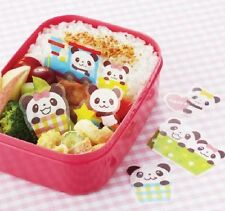 PANDA Divider Bento  Lunch Box  BARAN Antibacterial  Food  Accessories 18pcs