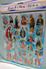 Religious Stickers Jesus & Mary First Communion Good Shepard St. Patrick New