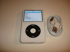 APPLE  IPOD  VIDEO  5.5 GEN.  CUStOM  WHITE  30GB...NEW  BATTERY...