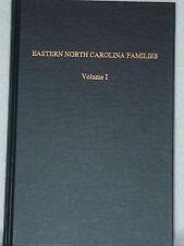 Eastern North Carolina Families David Gammon Genealogy Books Volume 1 1977