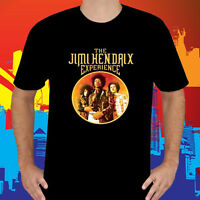 New The Jimi Hendrix Experience Rock Band Legend Black T-Shirt Size S to 3XL