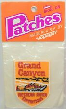 Vtg Grand Canyon Western River Expeditions Iron-on Patch  Arizona NEW