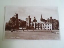 CARDIFF CASTLE (W 5606)  - Franked+Stamped 1959 -  Vintage RPPC  §B1663