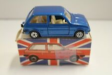 """Corgi Junior: """"Mini Metro"""" - Blue Metallic (Original 1981/Flip-Top Box)"""