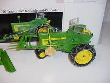 1/16 John Deere 720 Tractor W/80 Blade & 45 Loader Precision #18 W/Box!