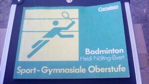 Badminton. Sport - Gymnasiale Oberstufe (v. Heidi Nölting-Evert)
