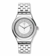 Swatch Irony Automatic Movement Silver Dial Unisex Watch YIS421G