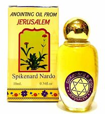 Anointing Oil Spikenard Nard Jerusalem Aromatic Oil From Israel Holy Land 10 Ml