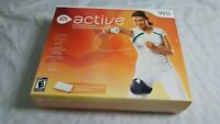 Wii Active Personal Trainer (Nintendo Wii, 2009) Open Box, NEW Never Used