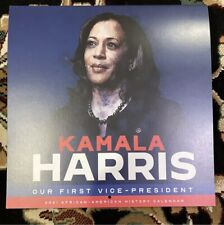 KAMALA HARRIS FIRST LADY 2021 Calendar (AFRICAN AMERICAN HISTORY)