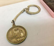 1973 Shell Oil Company EMPLOYEE EXCLUSIVE Keychain Wilmington , CA Refinery