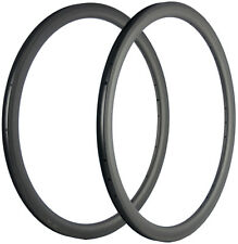 40mm Depth Bicycle Carbon Rims 25mm U Shape Cycle Rims 18/21/20/24 Holes UD 700C