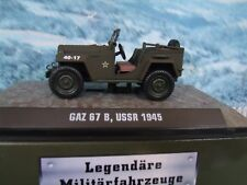 1/43 ATLAS  GAZ-67 B USSR1945 military car