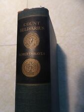 COUNT BELISARIUS by Robert Graves First Printing 1938