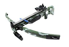 "Deluxe Action Military Crossbow Set With Scope Suction Cup Arrows 30"" New"