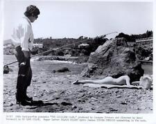 "Alain Delon/Irina Demick ""The Sicilian Clan"" 1969 Vintage Still"