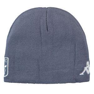 Unisex Aston Villa Kappa Football Sports Winter Outdoor Beanie Hat- Grey