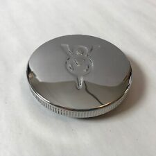 Ford Car & Truck Non Locking Stainless Steel V8 Gas Cap 1932-1950 *See Years*