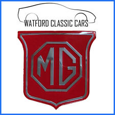 MGB and Midget Red Shield Grille Badge