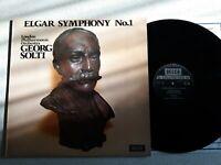 Elgar / Georg Solti / LSO – Symphony No.1. Vinyl LP Decca SXL6569 - BIS