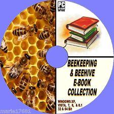 50 + RARA ANTICA E MODERNA Apicoltura Api Arnie apiary Miele BOOK CD risorse NUOVI