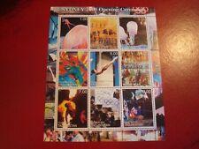 TAJIKISTAN - 2000 SYDNEY OLYMPICS - MINISHEET - UNMOUNTED MINT MINIATURE SHEET