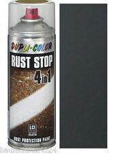 Dupli-Color 868429 Rust Stop Eisenglimmer schwarz 400 Ml