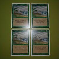 Hurricane x4 - Fourth Edition 4th - Magic the Gathering MTG 4x Playset