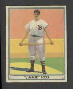 1941 Play Ball Baseball Card - #13 Jimmie Foxx, EX