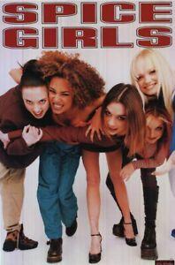 Spice Girls Official Merchandise Poster 84cm X 60cm