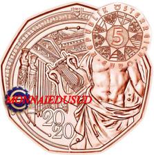 5 Euro Commémorative Autriche 2020 - Société Musicale de Vienne