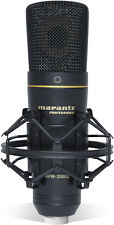 Marantz Pro MPM-2000U USB Studio-Quality Condenser Microphone for DAW Recording